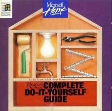 Reader's Digest Complete Do-It-Yourself Guide PC CD-ROM home house repairs tools
