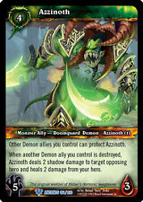 WOW WARCRAFT TCG WAR OF THE ANCIENTS : AZZINOTH X 4
