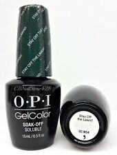 Gelcolor Soak-off Nail Polish - WASHINGTON DC Fall/Winter - Pick Any Color 0.5oz