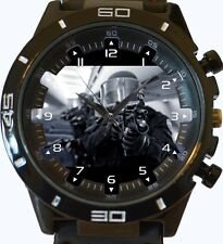 SWAT Special Police Team New Trendy Sports Series Unisex Gift Watch