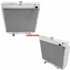 1969-1970 Ford Mustang Aluminum 4 Row Radiator, Champion Cooling
