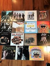 Lot Of 15 Record Albums - Led Zeppelin, Pink Floyd, The Beatles, Hendrix, Stones