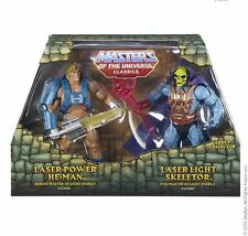 Laser Power! eh Man vs laser light Skeletor motu Masters of the Universe Classics