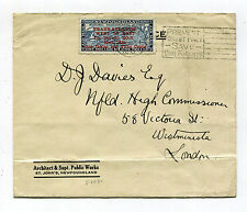 Newfoundland 1932 DO-X Flown Cover St. John's to England C12 AAMC 31 / TO 1164