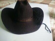 Black  Small Dog Chihuahua Cat Pet Cowboy Cowgirl Hat Cap Costume Party