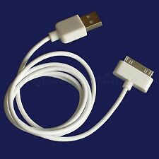 USB 2.0 Dock Connector to Data Sync Cord Cable Adapter for iPod iPhone 3G White