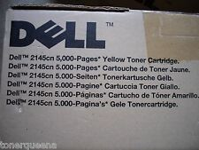 New Genuine Dell 2145CN High Yield Yellow Toner Cartridge M802K  5K 330-3790
