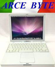 "APPLE IBOOK G4 12"" * FATTURABILE * MACBOOK STYLE * WIFI * 10.4 TIGER * OFFERTA"