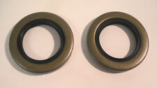 "2 -Trailer Axle Grease Seal 2000, 2200# 1.25"" ID  Double Lip Axel Dust Camper"