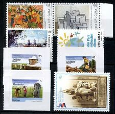 URUGUAY 2013 - 5 DIFFERENT COMPLETE SETS