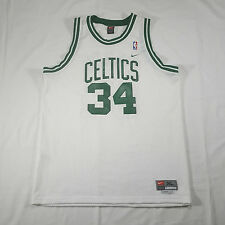 Boston Celtics Paul Pierce NIKE Basketball Jersey XL +2 #34 White Green SWINGMAN