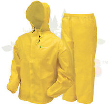 Frogg Toggs DriDucks Ultra lIte 2 II Rain Gear Suit Wear DriDuck Frog Yellow SM