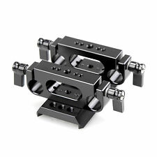 SmallRig QR Baseplate Dovetail w/2pcs Railblock 15mm Rail Support  Follow Focus