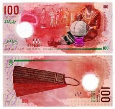 Maldives - 100 Rufiyaa - UNC polymer currency note - 2015 issue