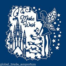 "Tattered Lace Fairy Castle tapisserie die D1198 ""Make a wish"" nouvelle version FREE P&P"