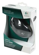 New Genuine Logitech Mouse M100 Black