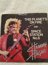 Sammy Hagar - This Planets On Fire / Space Station Number 5 - Original 1979 UK