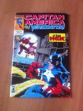 CAPITAN AMERICA & I VENDICATORI nr 20 STAR COMICS 1991 MARVEL ALPHA FLIGHT
