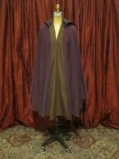 Purple Velvet Corduroy Cape/Cloak