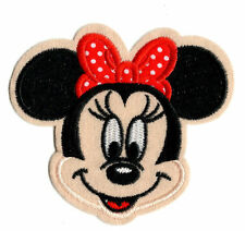MINNIE MOUSE IRON ON / SEW ON PATCH Embroidered Badge PT36 CARTOON TV