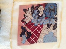 """STUNNING FINISHED COMPLETED NEEDLEPOINT 13.5"""" PILLOW TOP WALL HANGING"""
