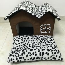 Pet Dog Cat Bed Puppy Cushion House Pet Soft Warm Kennel Dog Mat Bed