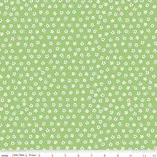 Calico Days Fabric Lori Holt Fabric Green Quilting Fabric Daisy Fabric By 1/2 Yd