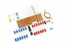 Flashing Red Blue LED DIY Kit CD4017 NE555 9V unsolodered Flux Workshop