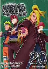 Naruto: Shippuden UNCUT ~ Complete 20th Box Set 20 ~ BRAND NEW 2-DISC DVD SET