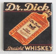 Dr. Dick Whiskey FRIDGE MAGNET (2 x 2 inches) richard sign label bottle