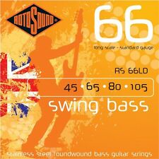 Rotosound RS66LD Stainless Steel Bass Guitar Strings 45-105 BRITISH MADE!!