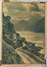 VINTAGE POSTER-PHOTO ROBERT ADAM SCOTLAND THE ROAD TO KINTAIL  ROSS AND CROMARTY