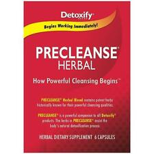 Detoxify PRECLEANSE Herbal Dietary Supplement 6 pills - SAME DAY SHIPPING