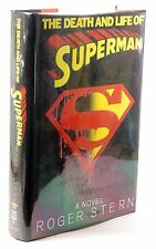 Signed First Edition The Death and Life of Superman:  A Novel - Stern, Roger Ban