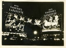 """Illumination GALERIES LAFAYETTE Noël 1931"" Photo originale G. DEVRED (Agce ROL)"