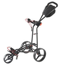 Big Max autofold FF - 3-rad - golf trolley color negro novedad 2016!