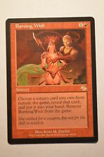 Mtg Magic the Gathering Judgment Burning Wish