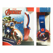 Marvel Avengers Captain America Civil War Headphones Earphones Kids Children