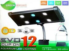Green element Beamswork Aquarium LED 6x 3W clip on coral reef high power