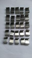 GREENHOUSE GLASS HOLDING OVERLAP METAL CLIPS 25 PER PACK