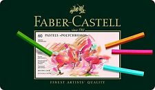 Faber-Castell Polychromos Pastel Crayon 60 Tin Professional Artist