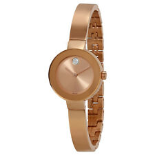 Movado Bold Rose Gold-tone Stainless Steel Ladies Watch 3600286