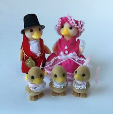 Sylvanian Families RARE Waddlington Duck Family Figures Highly Collectible