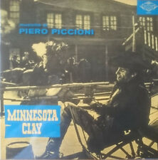 Piero Piccioni ‎– Minnesota Clay OST LP Contempo Records Spaghetti Western Vinyl