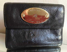 Mulberry Black Leather Continental Wallet/Purse - NICE!!