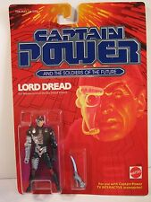 CAPTAIN POWER 1987 LORD DREAD action figure MATTEL MINT ON CARD #3906