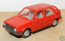 MICRO WIKING HO 1/87 VW VOLKSWAGEN GOLF rouge 5 portes dessin toit ouvrant