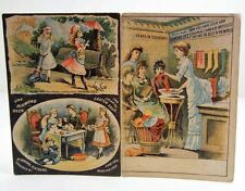VINTAGE VICTORIAN DIAMOND DYES AND DIAMOND PAINTS ADVERTISEMENT TRADE BOOKLET