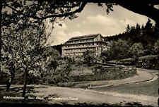 Helmarshausen Hessen 1955 Partie Waldsanatorium Haus Kleine Klinik Krankenhaus