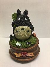 Totoro My Neighbour Studio GHibli VAlentines Day I Love You MUsic BOx Figure